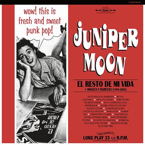 JUNIPER MOON 2xLP El Resto De Mi Vida + Singles Y Rarezas [1999-2003]