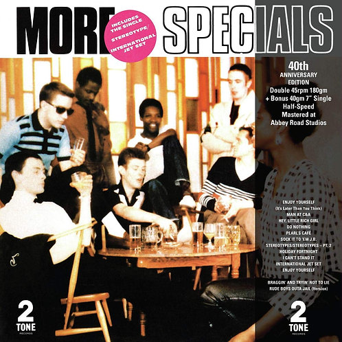 "THE SPECIALS 2xLP+7"" More Specials (40th Anniversary Half-Speed Master Edition)"