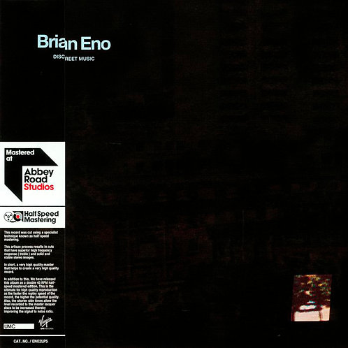BRIAN ENO 2XLP Discreet Music (Half Speed Mastering)