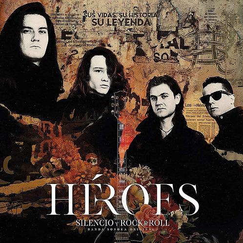 HEROES DEL SILENCIO 2xLP+2xCD Héroes: Silencio Y Rock & Roll