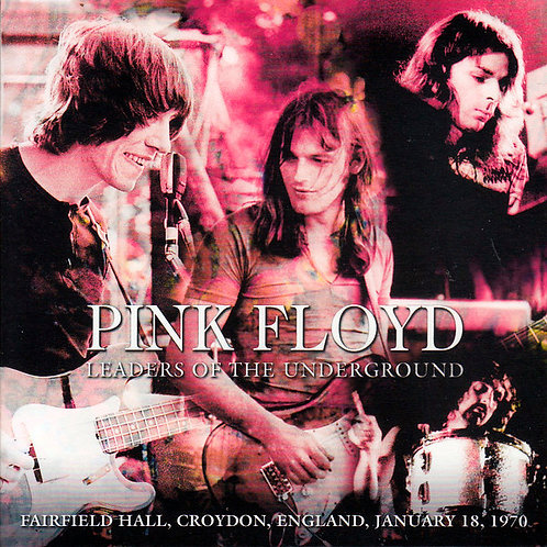PINK FLOYD 2xCD Leaders Of The Underground