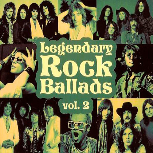 VARIOS 2xCD Legendary Rock Ballads Vol 2