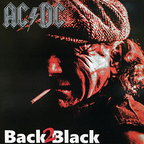 AC/DC LP Back 2 Black (Red Coloured Vinyl)