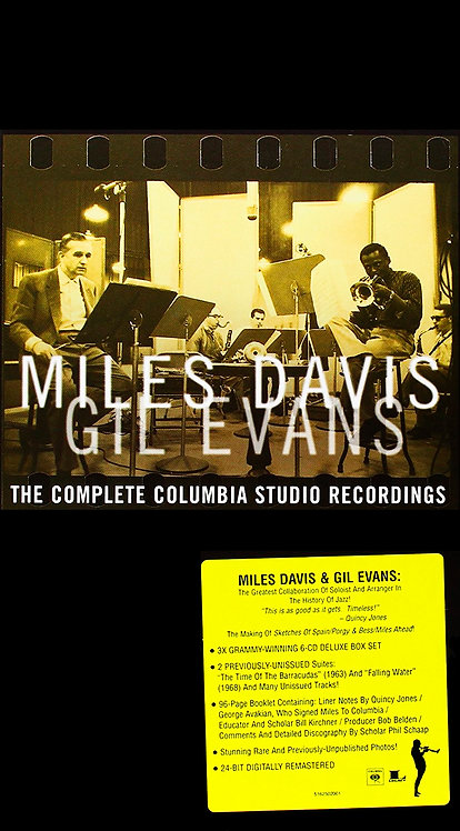 MILES DAVIS & GIL EVANS BOX SET 6xCD  The Complete Columbia Studio Recordings
