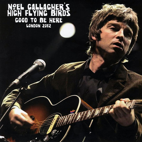 NOEL GALLAGHER'S HIGH FLYING BIRDS LP Good To Be Here - London 2012 (Red Colour)
