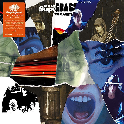 SUPERGRASS 2xLP The Strange Ones 1994-2008