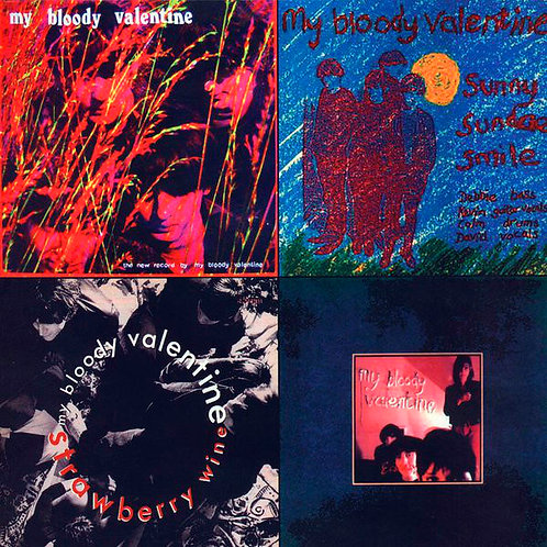 MY BLOODY VALENTINE LP Kiss The Eclipse: EP's 1986-1987