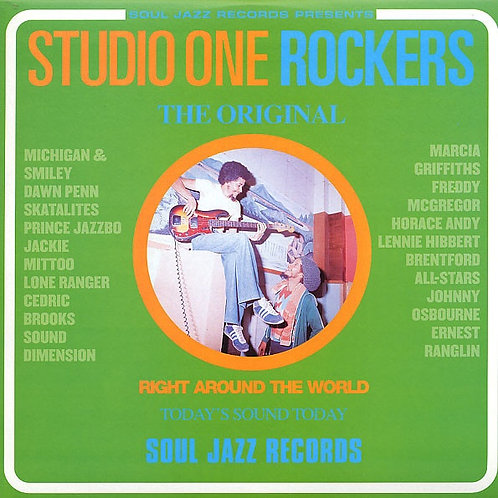 VARIOUS CD Studio One Rockers