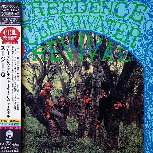 CREEDENCE CLEARWATER REVIVAL CD Creedence Clearwater Revival (Japan Mini LP)