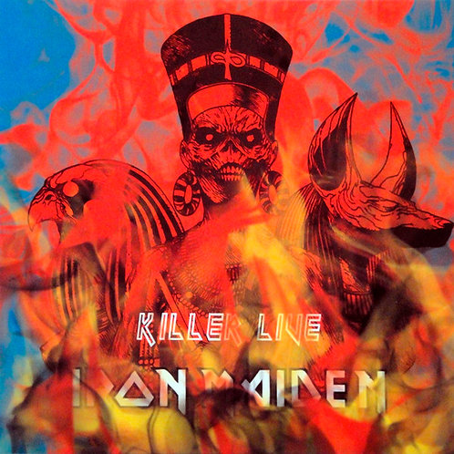 IRON MAIDEN LP Killer Live