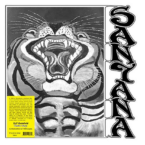 SANTANA 2xLP Tiger's Head (White Coloured Vinyl)