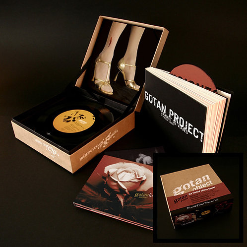 "GOTAN PROJECT BOX SET 2xCD+DVD+7""+BOOK+PUZZLE Gotan Object"