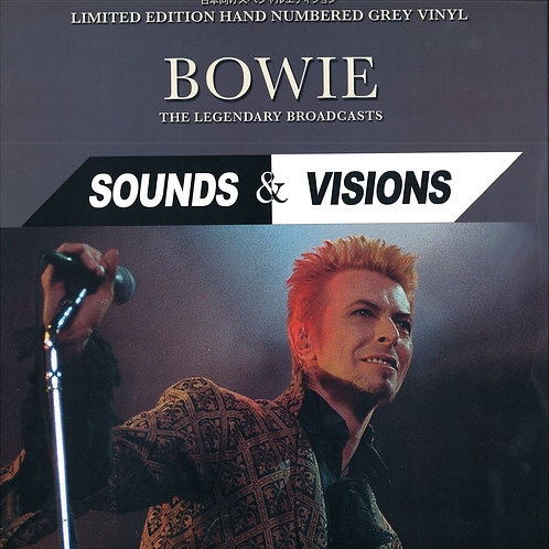 DAVID BOWIE LP Sounds & Visions (The Legendary Broadcasts) (Grey Coloured Vinyl)