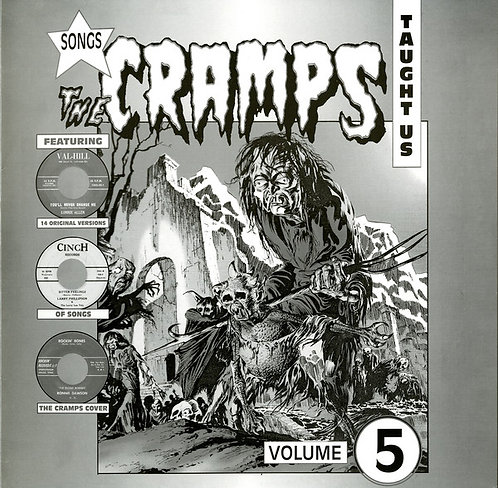 VARIOS LP Songs The Cramps Taught Us Volume 5