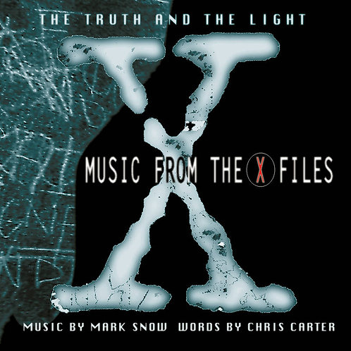 MARK SNOW LP Music From the X-Files: The Truth and the Light (RSD Drops Septemb)