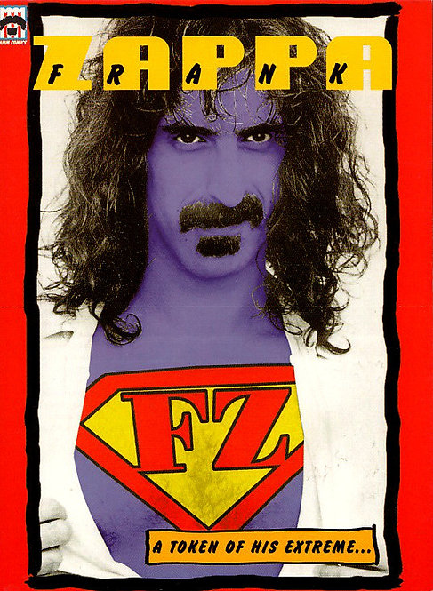 FRANK ZAPPA DVD A Token Of His Extreme... (Digipack)