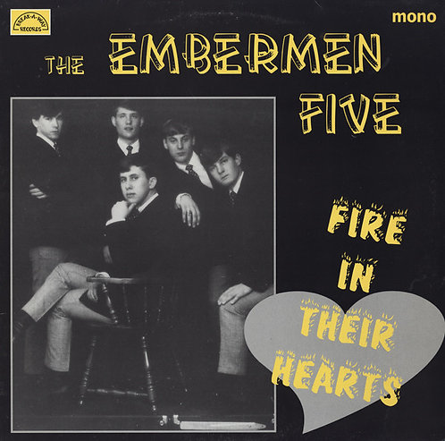 THE EMBERMEN FIVE LP Fire In Their Hearts