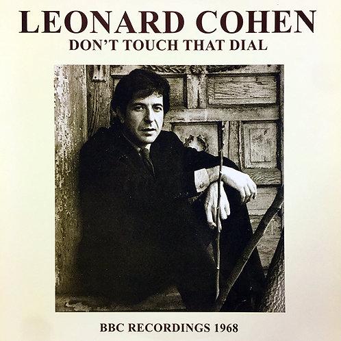 LEONARD COHEN LP Don't Touch That Dial - BBC Recordings 1968