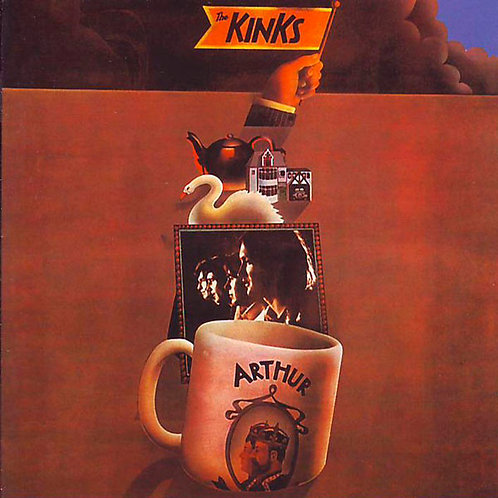 THE KINKS CD Arthur Or The Decline And Fall Of The British Empire + Bonus Tracks