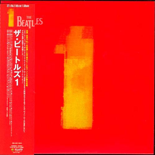 BEATLES 2xCD 1 One (Japan Import Vinyl Replica)
