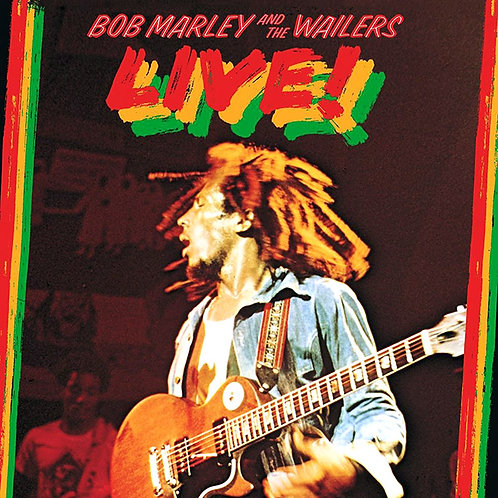 BOB MARLEY AND THE WAILERS LP Live! (180 Gram Remastered)