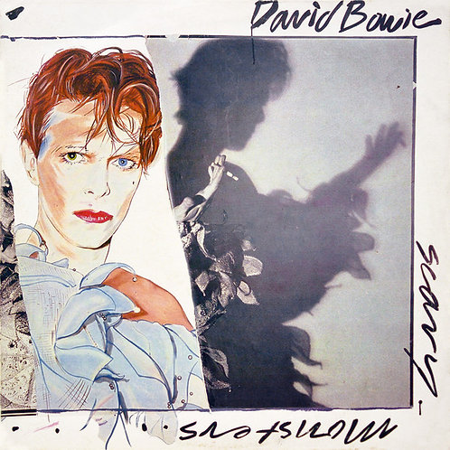 DAVID BOWIE CD Scary Monsters (Vinyl Replica)