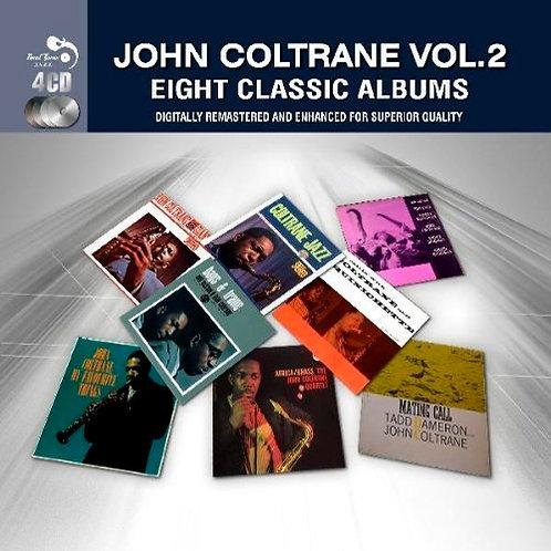 JOHN COLTRANE 4xCD Eight Classic Albums Vol 2