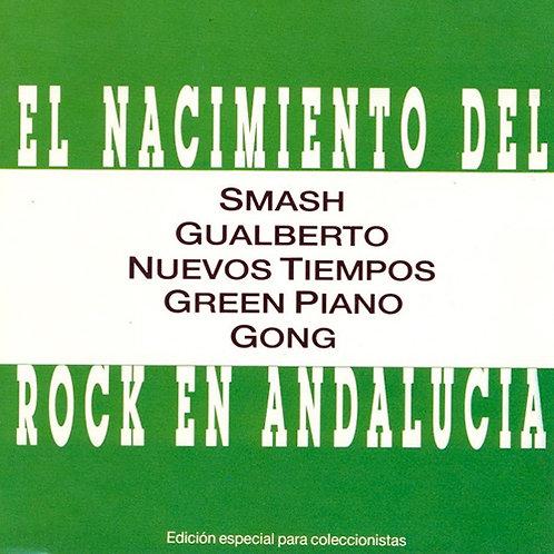 VARIOUS CD El Nacimiento Del Rock En Andalucía