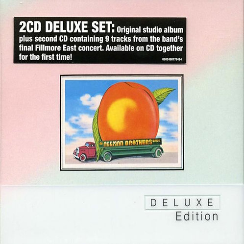 ALLMAN BROTHERS BAND 2xCD Eat A Peach (Deluxe Edition)