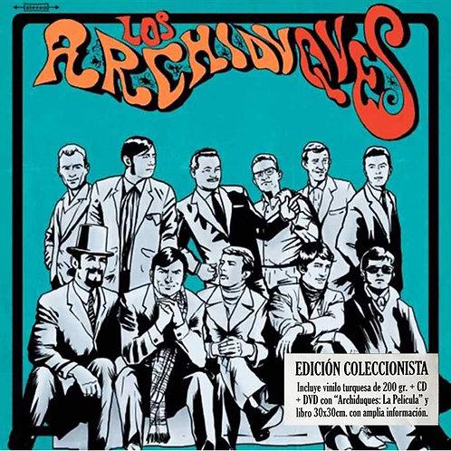 LOS ARCHIDUQUES LP+CD+DVD Los Archiduques (Turquoise Coloured Vinyl)