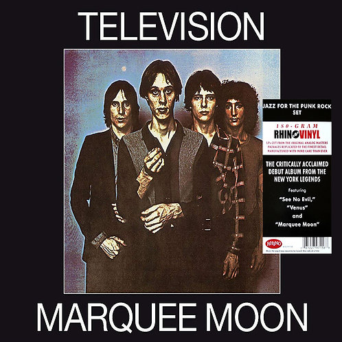 TELEVISION LP Marquee Moon (Remastered)