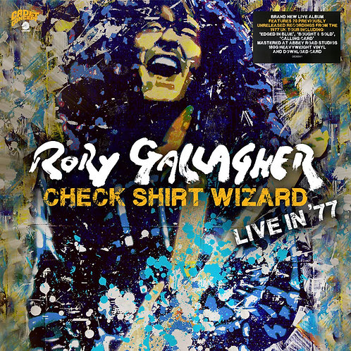 RORY GALLAGHER 3xLP Check Shirt Wizard (Live In '77)