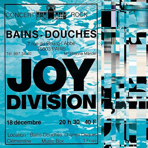 JOY DIVISION LP Les Bains Douches 1979