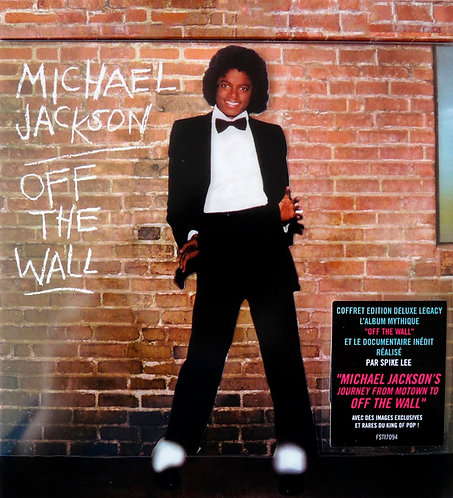 MICHAEL JACKSON CD+DVD Off The Wall (Deluxe Edition)