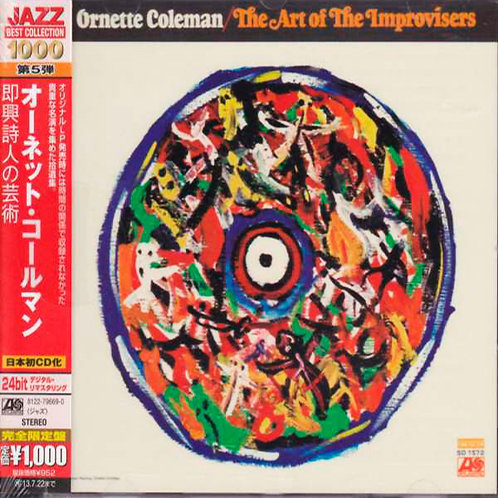 ORNETTE COLEMAN CD The Art Of The Improvisers (Japan Obi)