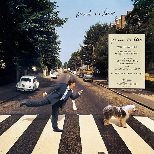 PAUL McCARTNEY 2xLP Paul Is Live (Remastered)