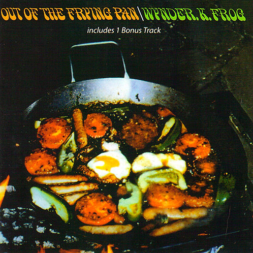 WYNDER K. FROG CD Out Of The Frying Pan
