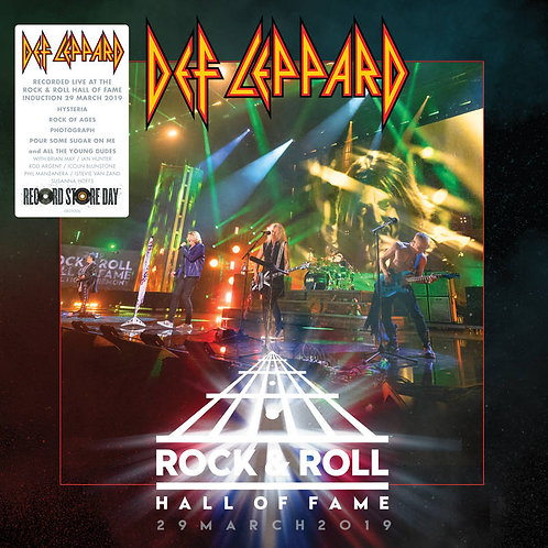 DEF LEPPARD LP Rock N Roll Hall of Fame (RSD Drops October 2020)