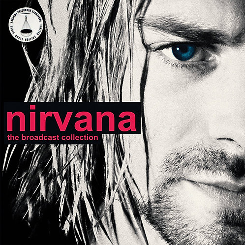 NIRVANA BOX SET 3xLP The Broadcast Collection (Clear Coloured Vinyl)