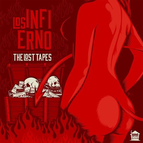 LOS INFIERNO LP The Lost Tapes (Mexico Garage)