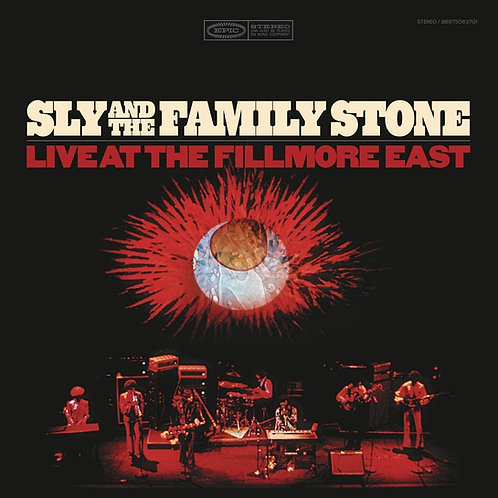 SLY AND THE FAMILY STONE 2xLP Live At The Fillmore East