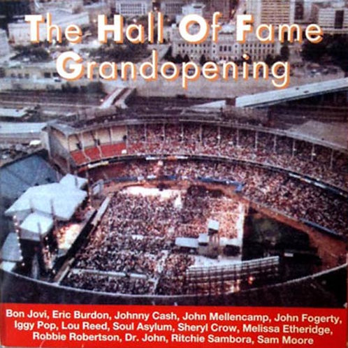 VARIOUS CD The Hall Of Fame Grandopening 1995