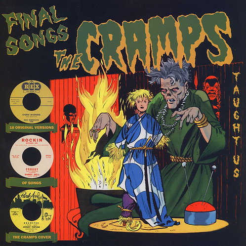 VARIOS LP Final Songs The Cramps Taught Us