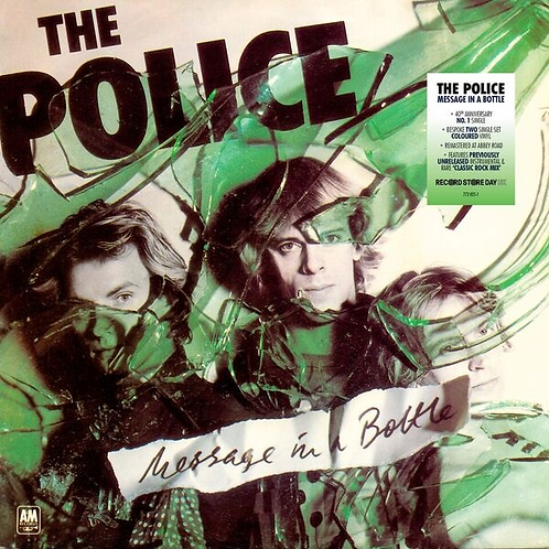 "THE POLICE 2x7"" Message In A Bottle (Record Store Day 2019)"