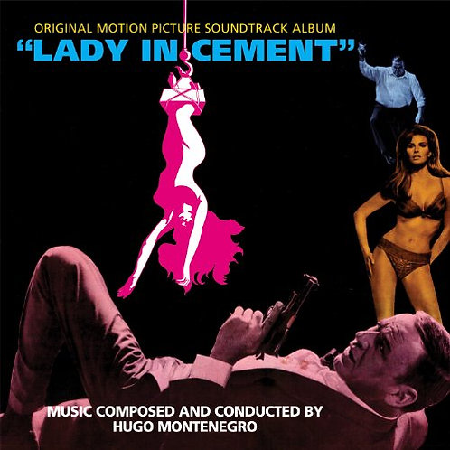 HUGO MONTENEGRO LP OST Lady In Cement (Clear Coloured Vinyl)