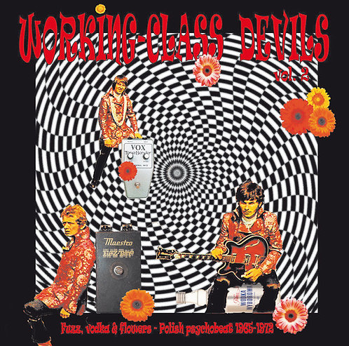 VARIOUS LP Working-Class Devils Vol. 2 Fuzz, Vodka & Flowers. Polish Psychobeat