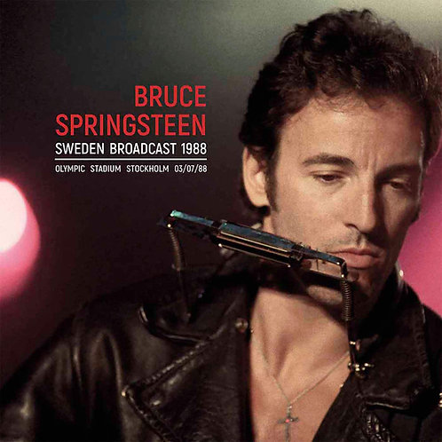 BRUCE SPRINGSTEEN 2xLP Sweden Broadcast 1988