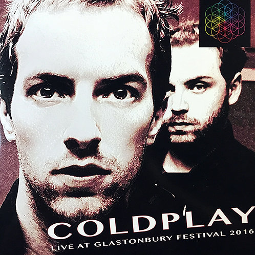 COLDPLAY 2xLP Live At Glastonbury Festival 2016