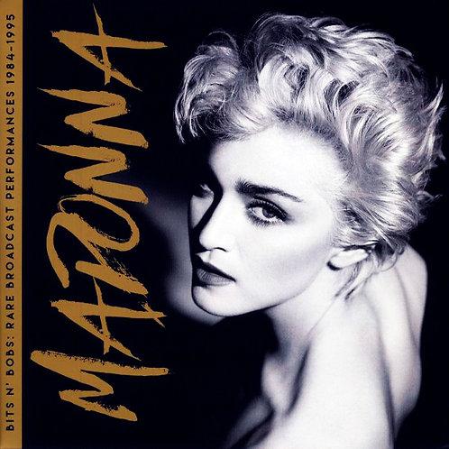 MADONNA 2XLP Bits N' Bobs: Rare Broadcast Performances 1984-1995 White Coloured