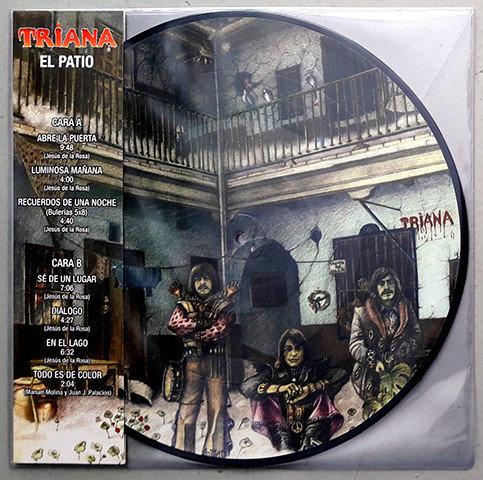 TRIANA LP El Patio (Edición Limitada Picture Disc RSD 2018)